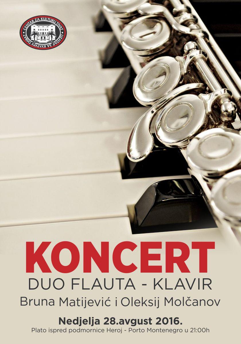 koncert duo flauta klavir